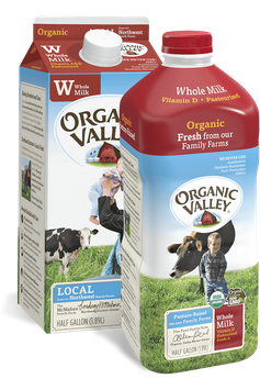 Organic Valley® Whole Milk, Pasteurized
