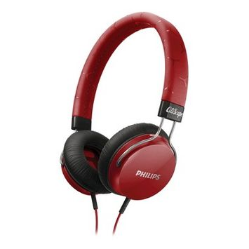 Philips Fixie Over-the-Ear Headphone - Red (SHL5300RD)