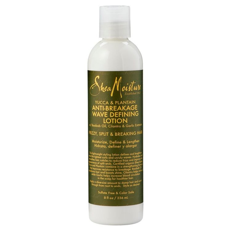 SheaMoisture Yucca & Plantain Anti-Breakage Wave Defining Lotion