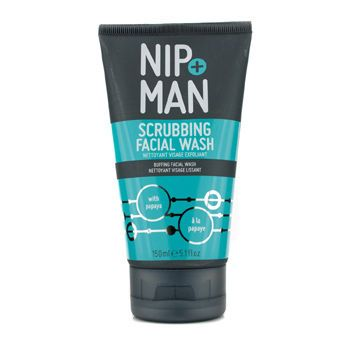 NIP+FAB Nip+Man Scrubbing Facial Wash 150ml/5.1oz