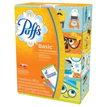 Procter & Gamble Puffs 96 ct Facial Tissue