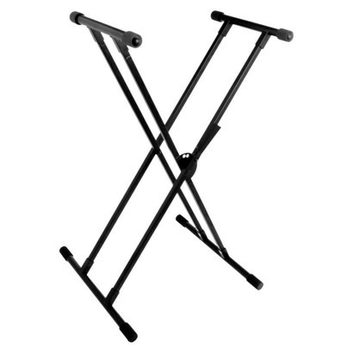 World Tour Double X Adjustable Keyboard Stand - DXKS