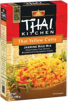 Thai Kitchen TK Yellow Curry Jasmine Rice Jasmine Rices