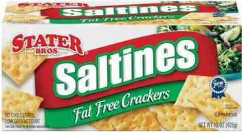 Stater bros Saltines Fat Free Crackers