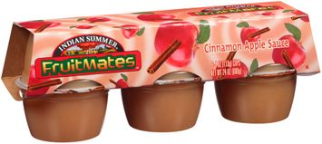 Indian Summer® Fruitmates™ Cinnamon Apple Sauce