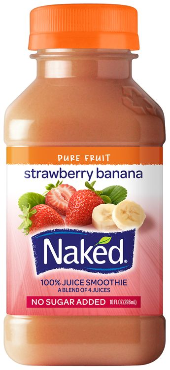 Amazon.com : Naked Smoothie Strawberry Banana 15.2 FL Oz