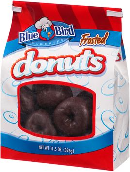 blue bird® frosted donuts