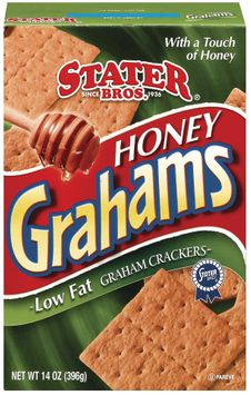 Stater bros Honey Low Fat Graham Crackers