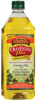 Pompeian Olivextra Plus omega DHA Olive Oil