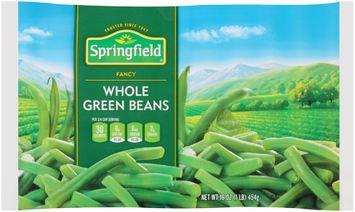 springfield® fancy whole green beans