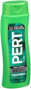 Pert Plus® Thickening 2x 2 in 1 Shampoo & Conditioner,