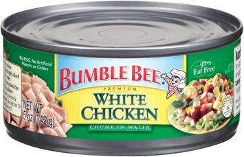 Bumble Bee White Chunk In Water Chicken