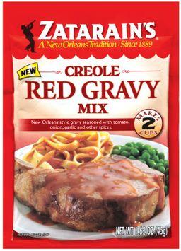 Zatarain's® Creole Red Gravy Mix