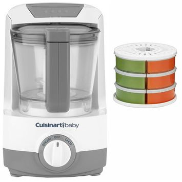 Cuisinart Baby Food Maker / Bottle Warmer with Baby Food Storage / Reheat System