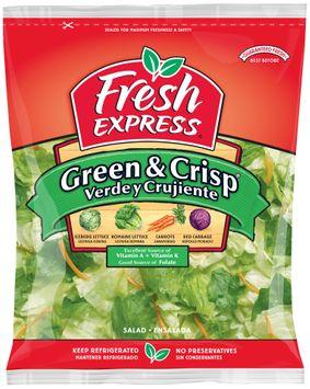 fresh express® green & crisp salad