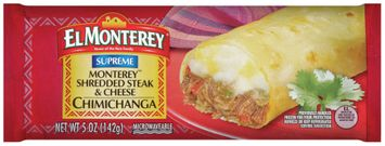 el monterey® monterey™ shredded steak & cheese chimichanga
