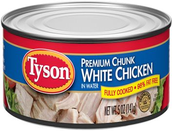 Tyson® Premium Chunk White Chicken in Water