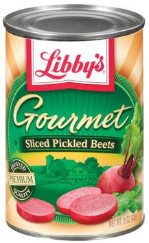 Libby's® Gourmet Sliced Pickled Beets