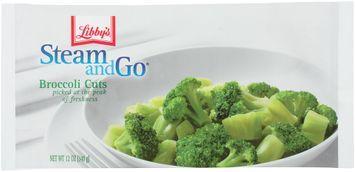 libby's® steam & go® broccoli cuts