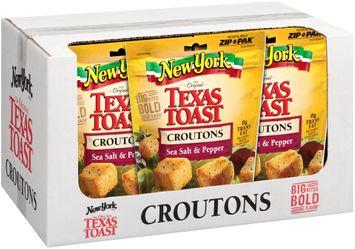New York Brand® The Original Texas Toast Sea Salt & Pepper Croutons