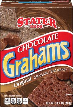 Stater bros® Chocolate Grahams Original Graham Crackers