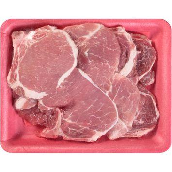 Smithfield Assorted Thin Cut Pork Loin Chops 7 ct Tray