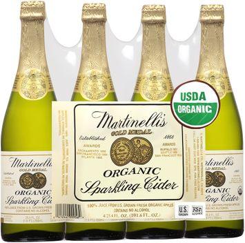martinelli's gold medal organic sparkling cider
