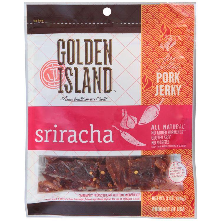 golden island™ sriracha pork jerky