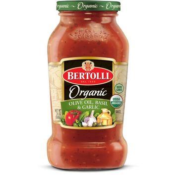 Bertolli® Organic Olive Oil, Basil & Garlic Sauce