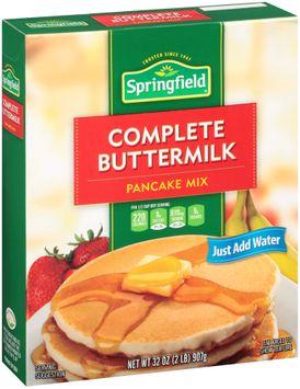 Springfield® Complete Buttermilk Pancake Mix