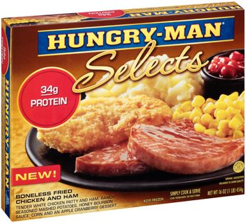 Hungry-Man® Selects Boneless Fried Chicken and Ham