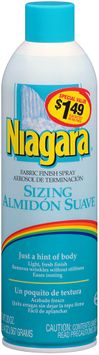 Niagara® Sizing Fabric Finish Spray