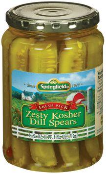 Springfield Dill Spears Zesty Kosher