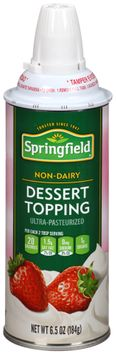 Springfield® Non-Dairy Dessert Topping