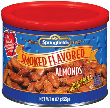 Springfield Almonds, Smoked Flavored Nuts