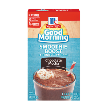 McCormick® Good Morning Chocolate Mocha Smoothie Boost