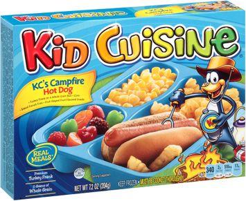 Kid Cuisine® KC's Campfire Hot Dog Frozen Dinner