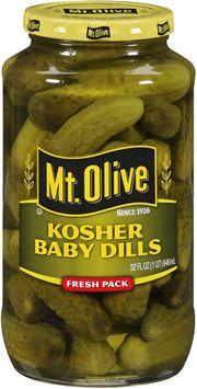 mt Olive Kosher Baby Dills Fresh Pack