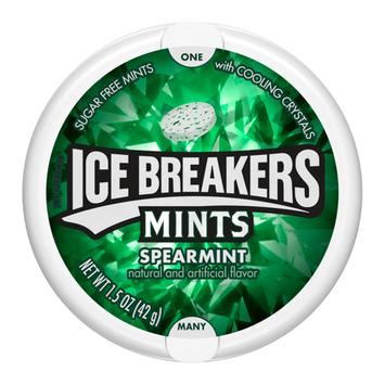 ICE BREAKERS SUGAR FREE MINTS SPEARMINT