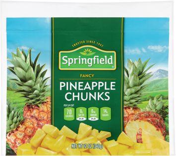 springfield® fancy pineapple chunks