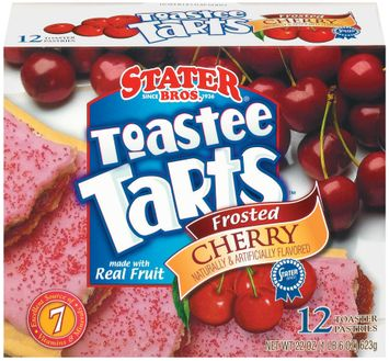 Stater bros Frosted Cherry 12 Ct Toastee Tarts