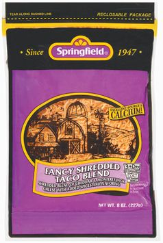 Springfield Fancy Shredded Taco Blend Cheese