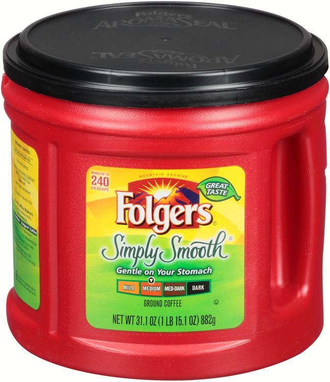 Folgers® Simply Smooth® Medium Ground Coffee
