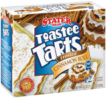 Stater bros Frosted Cinnamon Roll 12 Ct Toaster Tarts