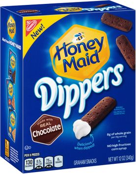 Nabisco Honey Maid Dippers Chocolate Graham Snacks