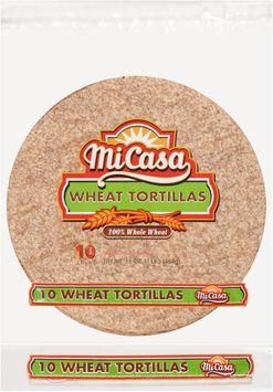 Mi Casa® Wheat Tortillas 10 ct Bag