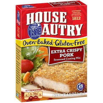 House-Autry® Oven-Baked Gluten-Free Extra Crispy Pork Seasoned Coating Mix