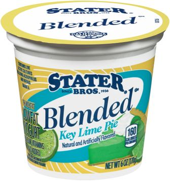 Stater bros® Low Fat Blended Key Lime Pie Yogurt