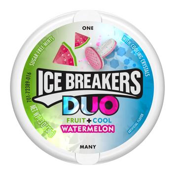 ICE BREAKERS DUO MINTS WATERMELON