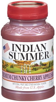 Indian Summer Chunky Cherry Apple Sauce